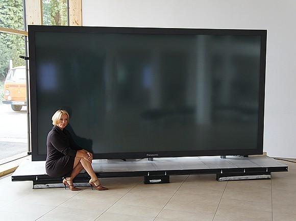 Tv wandhalterung selber bauen  Koelnmedien Plasma